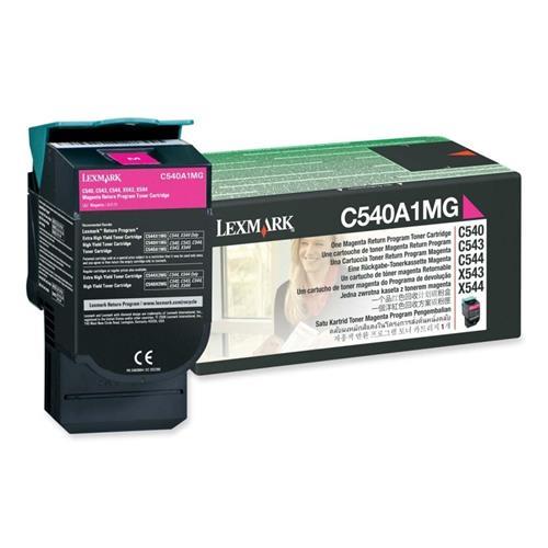 Foto Lexmark C540A1MG Toner Originale magenta Laser