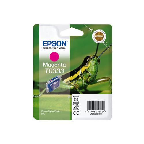 Foto Epson T0333 Cartuccia Originale magenta C13T03334010 Inkjet