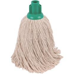 Robert Scott & Sons Socket Mop for Rough Surfaces PY 16oz Green Ref 101858GREEN [Pack 10]