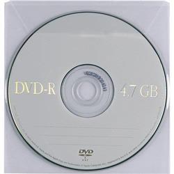 Buste porta CD/DVD Favorit - con patella - conf. 25