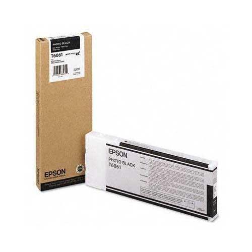 Foto Epson C13T606100 Cartuccia Originale nero foto Inkjet