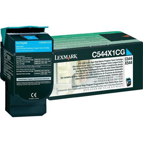 Foto Lexmark C544X1CG Toner Originale ciano Laser