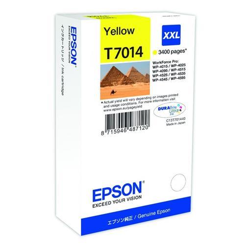 Foto Epson C13T70144010 Cartuccia Originale giallo Inkjet