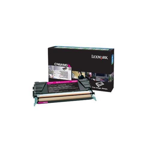Foto Originale Lexmark C746A1MG Toner C746, C748 magenta Laser