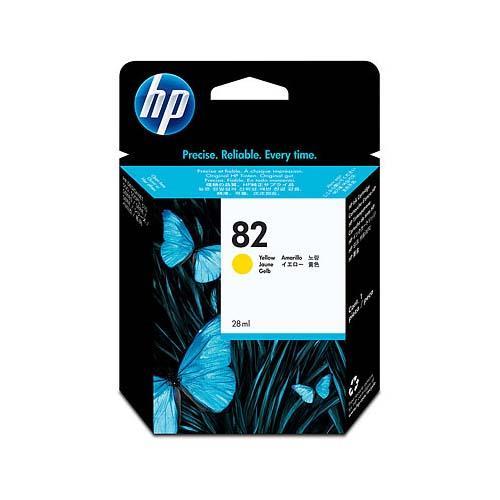 Foto Cartuccia Originale per HP stampanti inkjet 82 giallo - 28 ml