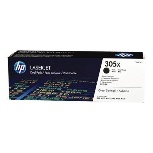 Foto Originale HP CE410XD - Conf. 2 - Toner 305X - Nero - conf. 2 Laser