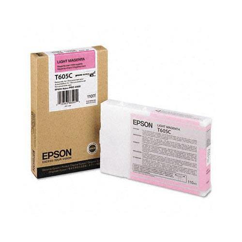 Foto Epson C13T605C00 Cartuccia Originale magenta chiaro Inkjet