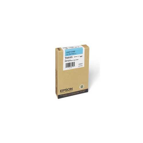 Foto Epson C13T603500 Cartuccia Originale ciano chiaro Inkjet