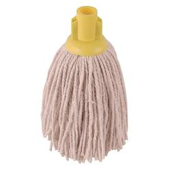 Robert Scott & Sons Socket Mop for Smooth Surfaces PY 12oz Yellow Ref 101870YELLOW [Pack 10]