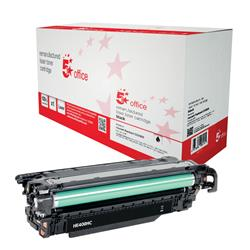 5 Star Office Remanufactured Laser Toner Cartridge Page Life 11000pp Black [HP 507X CE400X Alternative]