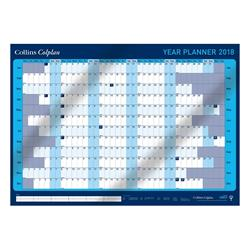 Collins 2018 Colplan Year Planner A1 with Activity Labels and Pen Ref CWC9 2018