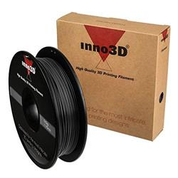 Inno3D PLA Filament for 3D Printer 1.75x200mm Black Ref 3DPFP175BK05