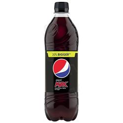 Pepsi Max Soft Drink Bottle 600ml Ref 200421 [Pack 24]