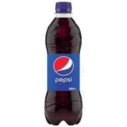 Pepsi Regular Soft Drink Bottle 500ml Ref 205035 [Pack 24]