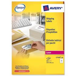 Avery L7169 Laser Printer Labels 139x99.1mm Ref L7169-100 - Pack 400 - 3 for 2