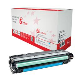5 Star Office Remanufactured Laser Toner Cartridge Page Life 15000pp Cyan [HP 650A CE271A Alternative]