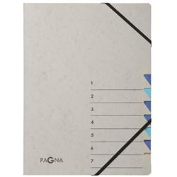 Pagna Pro 7 Part File A4 Grey and Blue Ref 4430702