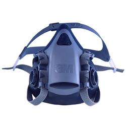 Image of 3M 7502 Med Silicone Half Mask S - 7501