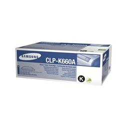 Samsung CLP-K660A Black Toner Cartridge (Low Capacity) for CLP600/650 (Yield 2500 pages)