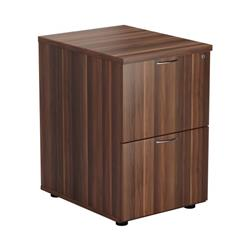 2 Drawer Filing Cabinet - Dark Walnut - TES2FCDW
