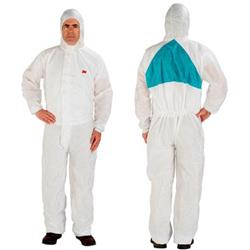 Image of 3M 4520 Protective Coverall White L - 4520WL