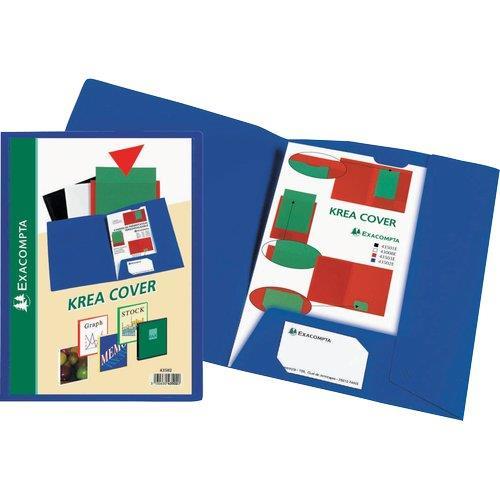 Foto Cartellette personalizzabili Kreacover® Exacompta - conf. 30 Cartelle speciali
