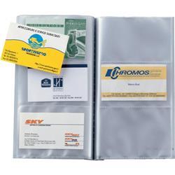 Porta biglietti da visita personalizzabile Sei Rota Uno Visita TI - 90 biglietti - blu