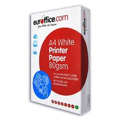 Carta A4 Euroffice - 80 g/mq - per stampe e copie - 1 risma