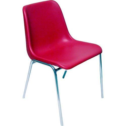 Foto Sedia attesa Esse Unisit - rosso - ESC/5/RO (conf.5) Sedie pieghevoli, sgabelli e per sala d'attesa