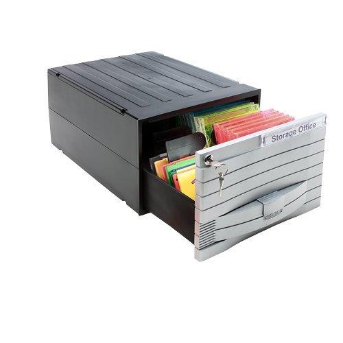 Foto Schedari modulari MediaSolutions 160 Exponent - 35x25,5x17,3 cm - 48 C Porta CD e DVD