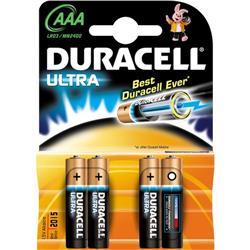 Pile Duracell Ultra M3 - ministilo - conf. 4