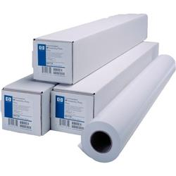 Carta plotter HP inkjet - 61 cm x 45,7 mt - 90 g/mq - bright white
