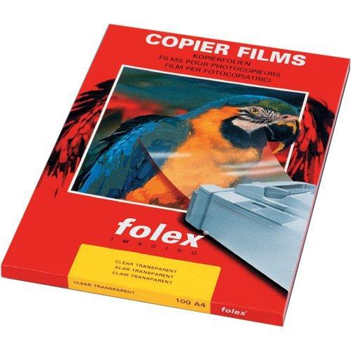 Image For Film adesivo Folex - A4 - trasparente - conf. 100