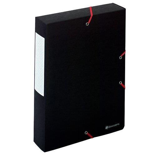 Foto Cartella archivio box Nature Future Exacompta-6 cm-nero 10pz Scatole portaprogetti in cartone