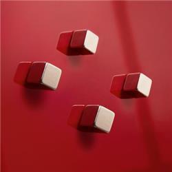 Foto Magneti SuperDymStrong per Lavagne magnetiche Artverum Sigel-argento Accessori per lavagne