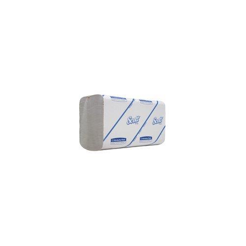 Foto Asciugamani 1 velo SCOTT® Idrosolubili-21,2x21,5 cm-piegati a V -15pz