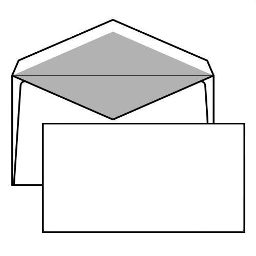 Buste da lettera bianche senza finestra internografate - Buste 11x23 senza finestra ...