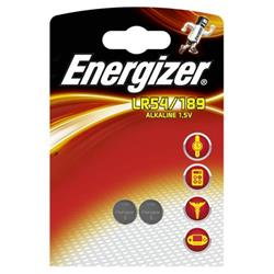 Energizer Alkaline LR54 Button Cell Battery 1.5V Ref LR54 189 FSB-2 [Pack 2]
