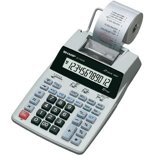 Foto Calcolatrice scrivente Sharp EL-1750PIII Calcolatrici scriventi