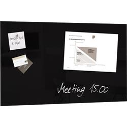 Foto Lavagne magnetiche in vetro Artverum Sigel 48x78 cm nera GL130 Lavagne magnetiche colorate