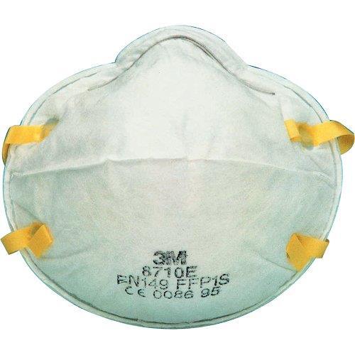 Foto Mascherina per polveri 8710 3M - EN 149:2001 in classe FFP1 - conf. 20 Respiratori FFP1