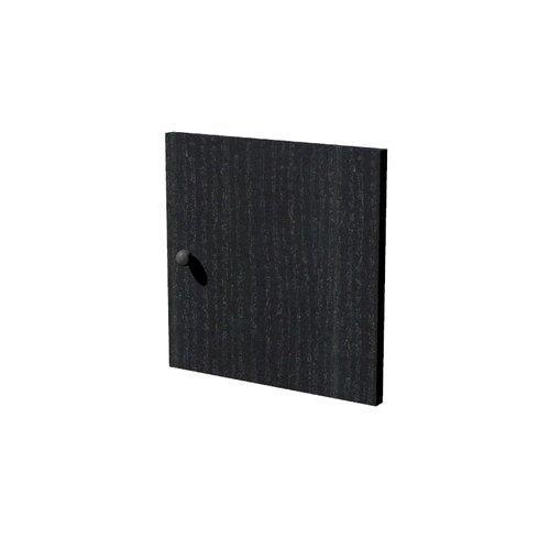 Foto Anta e retro per librerie Maxicube - 32,2x32,1 cm - nero Librerie componibili