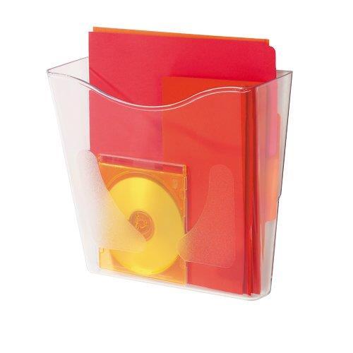 Image For Vaschette portadocumenti da parete Deflecto - verticale - 26,1x10,1x25