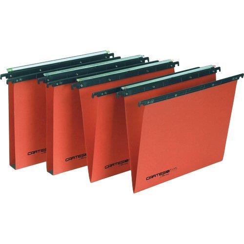 Foto Cartelle sospese Linea Cartesio Plus -cassetto 39÷39,8cm U3 -25pz Cartelle sospese per cassetto