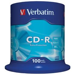 Verbatim CD-R DataLife - Spindle Extra Protection - 700 Mb 52x - conf. 100
