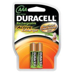 Pila ricaricabile Duracell Accu Active charge - ministilo AAA - conf. 2