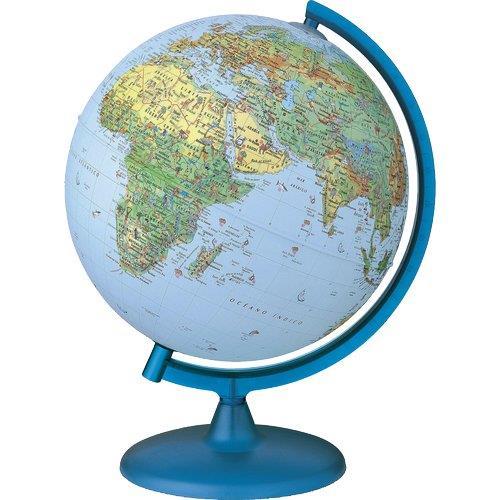 Foto Globo geografico Symbol Tecnodidattica Ø 30 cm flora, fauna e opere Carte geografiche e mappamondi