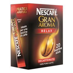 Caffè Gran Aroma Relax Nescafè solubile- conf. da 20 stick monodose