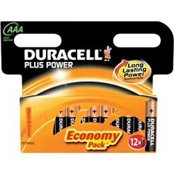 Pile Duracell Plus Duracell - Ministilo - AAA - MN2400B12 - conf. 12
