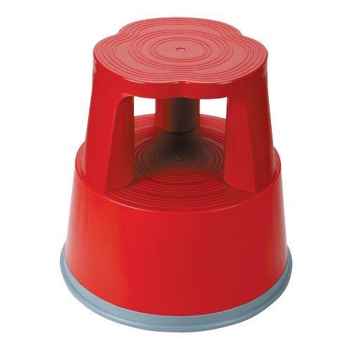 Foto Sgabello in plastica RelX rosso - 266114 Scale e sgabelli